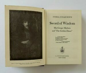 Ithell Colquhoun SWORD OF WISDOM MacGregor Mathers & The Golden Dawn 1975 Book