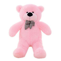 24'' super big huge pink plush teddy bear soft stuffed doll toys Halloween gifts