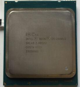 Intel Xeon E5-2680 V2 2.8 GHz 10-Core 20T 25M Processor LGA2011 115W CPU