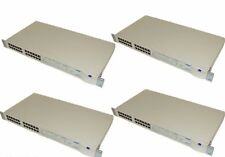 Lot of 4 3Com 3C16611 Superstack II Dual Speed Hub 500 ( 24 Port )
