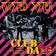 Twisted Sister - Club Daze Volume 1 - The Studio Sessions (CD) NEW/Sealed !!!
