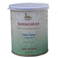 Bhringraja Kapseln Haarwachstum Kopfhaut Leber Ayurveda