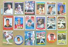MARK McGWIRE LOT 400+ DIFFERENT CARDS! 1986-1997 w/ Oakland A's NO StL Cardinals