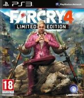 Far Cry 4: Limited Edition (PS3) MINT - Same Day Dispatch via Super Fast Deliver