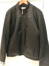 calvin klein  Real Leather Jacket For Men Used Size 50
