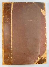 Scribners Magazine Antique Book Volume IX Jan 1891 Illustrated Monthly (O) AS IS