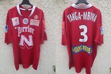 Maillot MONTPELLIER porté n°3 YANGA-MBIWA Nike MHSC match worn shirt LFP L