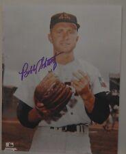 AUTOGRAPHED COLOR 8 X 10  PHOTO MLB BOBBY SHANTZ>NY YANKS & HOUSTON COLTS .45'S