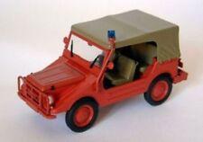 Dkw Munga 4 Fire Brigaden Clos.1 43 Starline Str60982 Miniature