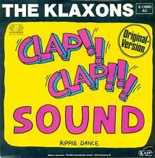 """THE KLAXONS CLAP CLAP SOUND VYNILE 7"""" SINGLE S2882"""
