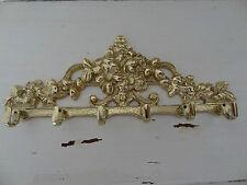 Brass rack with 6 hooks