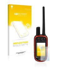 Upscreen reflection lámina protectora para Garmin Alpha 100 protector de pantalla mate
