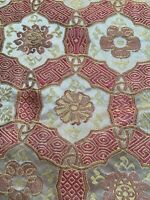 Glassgall 100% Silk Fabric Upholstery Drapery  7 Pieces  24x24  Different Colors