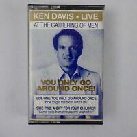 Ken Davis Live You Only Go Around Once! Cassette 1988 Dynamic