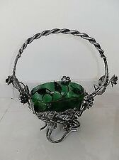 Composition wrought iron with rose and handle centerpieces decorative furniture