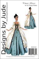 "Outlander Claire Fraser Sewing Pattern for 16"" Poppy Parker Dolls Poldark"