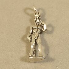 .925 Sterling Silver 3-D MICHELANGELOS DAVID CHARM NEW Florence Pendant 925 TR93