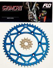 Sprocket Set / Chain Combo Kit Gold Motocross Dirtbike Blue 50T / 13T KTM