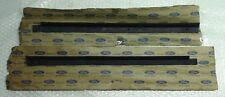 MK2 CORTINA GT 1600E LOTUS GENUINE FORD NOS DOOR BELT OUTER WEATHERSTRIPS - PAIR