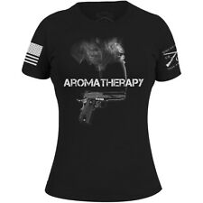 Grunt Style Women's Aromatherapy T-Shirt - Black
