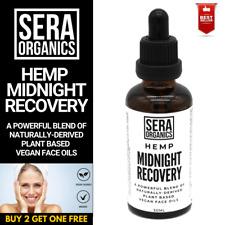 Hemp Midnight Recovery Face Oil Night Moisturiser Serum Wrinkles Acne 50ml