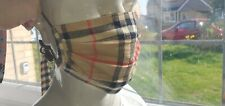 Burberry Face Mask, football casual, terrace wear, pure new wool