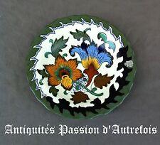 B2017427 - Assiette décorative en céramique Gouda Hollande  - Très bon état