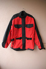 Motorradjacke schwarz/rot von Takai, Größe L