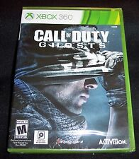 Call of Duty Ghosts Microsoft Xbox 360 2013 PreOwned, VIDEO GAME FREE SHIP NEW