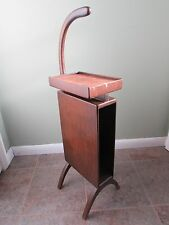 Original Vintage Mid Century Modern Butler Telephone Stand/Table Danish Style