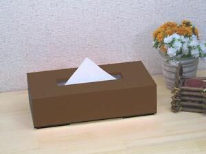 Tatsuyuki Hashimoto assistant crafts tissue BOX color Brown JAPAN