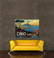 GIANT PRINT POSTER VINTAGE AD TOMATOES CIRIO CANNED FOOD VESUVIUS VOLCANO PDC212