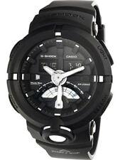 Casio Men's G Shock GA500-1A Black Rubber Quartz Sport Watch