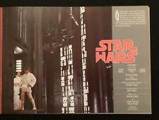 STAR WARS EARLY ANNOUNCEMENT PROMO 20TH CENTURY FOX PRODUCTION BOOK 1976 RARITY