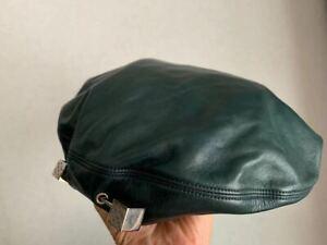 Louis Vuitton Vintage Leather Beret Size L