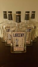 Set of 6 Empty 1.75L Larceny Bottles- Kentucky Straight Bourbon Whiskey