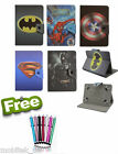"Common Universal Tablet 9"" & 10"" inch Cover Case Kids Cartoon Batman PU Leather"