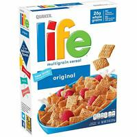 Quaker Life Breakfast Cereal Variety Pack, 4 Boxes, 52 Ounce