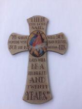 Magnetkreuz Magnet Magnettafel Kühlschrankmagnet m.Segensspruch bzw. Bibelspruch