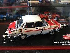 Renault 12 Gordini - 1973 Rally Monte Carlo - J. Ragnotti