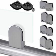 Acero Soporte Abrazadera Vidrio Glass Clamp Conector Pipa Pasamanos Barandillas