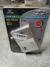 "2.5"" USB 2.0 IDE Hard Drive Disk HDD External Case Enclosure Box PC Laptop"