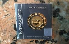 1798-1998 Taylor And Francis Page Markers