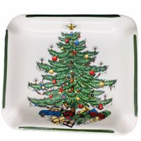 Vintage Cuthbertson Christmas Tree Ashtray Trinket Jewelry Coin Dish England