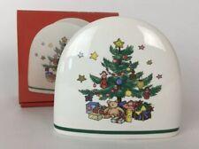 Nikko Christmastime Napkin Holder Christmas Tree Made In Japan Original Box