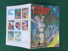 LA CORSARA NERA n.23 Gigante LUSSURIA E MORTE Galassia (1973) Fumetto erotico