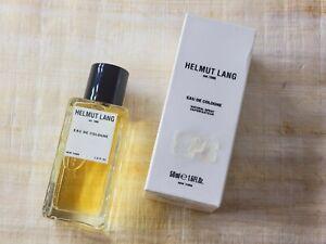 Eau de Cologne Helmut Lang for men Spray 50 ml 1.7 oz, Vintage, Rare, Sealed