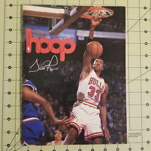 1993 Cleveland Cavaliers Hoop Basketball Program Magazine Scottie Pippen cover
