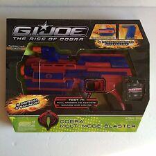 GI Joe Cobra Multi Mode Blaster Targeting Light Shooter