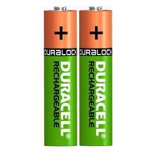 2 X DURACELL AAA 750 mAh batterie ricaricabili NiMH, ACCU lr03 hr03 dc2400